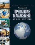 Principles of Operations Management & Student CD & Student DVD (7th Edition)