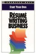 Start Your Own Resume Writing Service - Prentice Hall Editorial - Paperback