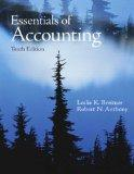 Essentials of Accounting (10th Edition)