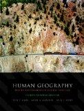 Human Geography: Places and Regions in Global Context, Third Canadian Edition with Companion...