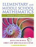 Elementary and Middle School Mathematics: Teaching Developmentally (with MyEducationLab)