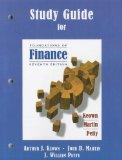 Study Guide for Foundations of Finance