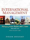 International Management Managing Across Borders and Cultures