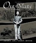 Out of Many, Volume I: A History of the American People with CDROM