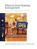 Effective Small Business Management (9th Edition)
