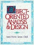 Object-Oriented Analysis and Design - James Martin - Hardcover