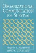 Organizational Communication F/survival