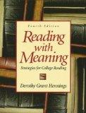 Reading With Meaning: Strategies for College Reading