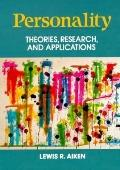 Personality Theories, Research, and Applications