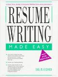 Resume Writing Made Easy