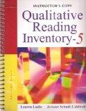 Instructor's Copy Qualitative Reading Inventory - Fifth Edition