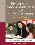 RTI and English Learners: Making it Work