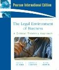 Legal Environment of Business : International Edition