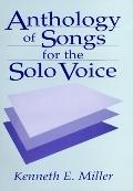 Anthology of Songs for the Solo Voice