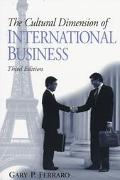Cultural Dimension of Internat.business