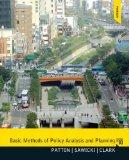 Basic Methods of Policy Analysis and Planning (3rd Edition)
