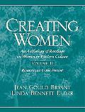 Creating Women An Interdisciplinary Anthology of Readings on Women in Western Culture