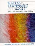 Business in Government and Society Ethical, International Decision Making