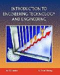 Introduction to Engineering Technology and Engineering Val D. Hawks and A. Brent Strong