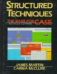 Structured Techniques: A Basis for Case - James Martin - Hardcover - REV