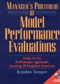 Manager's Portfolio of Model Performance Evaluations Ready-To-Use Performance Appraisals Cov...