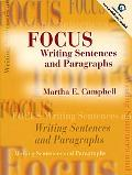 Focus Writing Sentences and Paragraphs