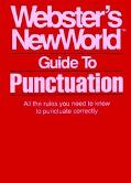 Webster's New World Gde.to Punctuation