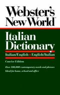 Webster's New World Italian Dictionary/Italian/English-English/Italian
