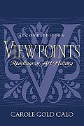 Viewpoints Readings in Art History