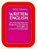 Written English An Introduction for Beginning Students of English As a Second Language