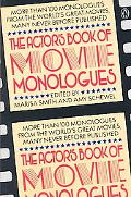 Actor's Book of Movie Monologues