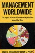 Management Worldwide The Impact of Societal Culture on Organizations Around the Globe