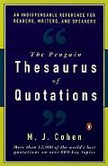 Penguin Thesaurus of Quotations