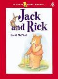 Jack and Rick - David McPhail - Paperback - 1ST GREEN