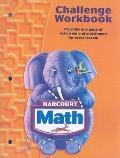 Harcourt Math Grade K - Challenge Workbook