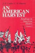 American Harvest Readings in American History