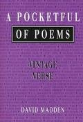 Pocketful of Poems Vintage Verse