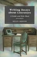 Writing Essays About Literature A Guide and Style Sheet