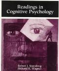 Readings in Cognitive Psychology