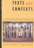 Texts and Contexts: A Contemporary Approach to College Writing