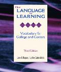 Language of Learning Vocabulary for College and Careers