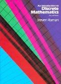 Introduction to Discrete Mathematics - Steven A. Roman - Hardcover - 2nd ed