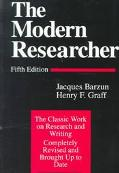 Modern Researcher With Infotrac