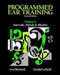 Programmed Ear Training Intervals Melody and Rhythm