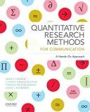 Quantitative Research Methods for Communication