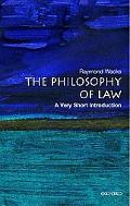 Philosophy of Law A Very Short Introduction
