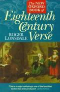 New Oxford Book of Eighteenth Century Verse
