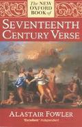 New Oxford Bk.of Seventeenth-cent.verse