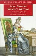 Early Modern Women's Writing An Anthology 1560-1700