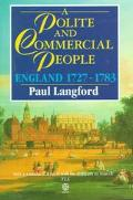 Polite and Commercial People England 1727-1783